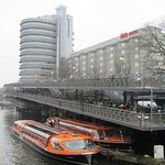 A whole multi-storey 'car'-park.....full of bikes near the station