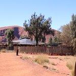 Bild från Uluru-Kata Tjuta Cultural Centre