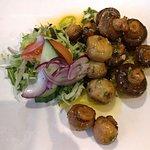 Starters - Sauteed mushrooms