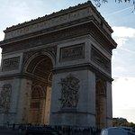 Foto van De Arc de Triomphe (Triomfboog)
