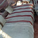 terrasse : qualité et hygiène des tissus des fauteuils