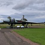 Avro Vulcan at the National Museum of Flight Scotland