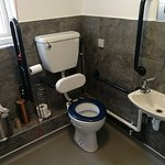 Spotlessly clean toilets!