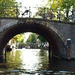 Canal tour seven bridges view