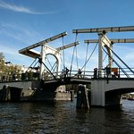 The Skinny Bridge in Amsterdam
