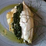 FRESH FISH & SPINACH