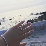 Proposal on the resort beach