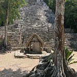 This is a smaller temple near Coba