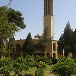 Dolat Abad Garden, built around 1750, with the tallest wind towers in the world