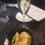 champagne and cornbread