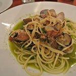 Clam pasta sooo good!