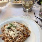 Slightly spicy spaghetti bolognaise