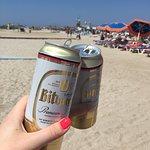пляж у центрального кольца Тигаки