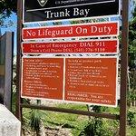 Billede af Trunk Bay