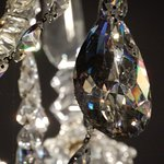 Chandelier bright and sparkling