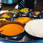 If you've had Thalis before, this is not your average Thali. If you haven't, you're missing out.