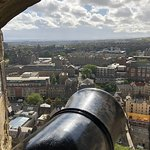 Gun turret and view