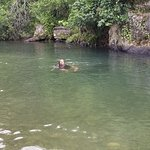 Natural rain water pond