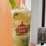 Culantro Mojito solo en El Cañón Bar Cafetería