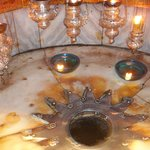 Church of the Nativity-Site of Jesus' birth-in the grotto