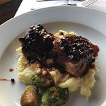 Pork Short Ribs with Huckleberry BBQ Sauce