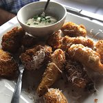 Fresh Artichokes Deep Fried with Aioli