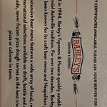 Bilde fra Barley's Taproom & Pizzeria