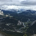 View of Banff from top