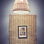 fish trap bamboo light