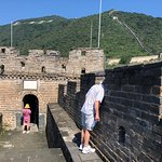 One of the towers of the Great Wall