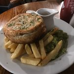 Top quality pie and chips