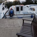 Overnight mooring at New Inn