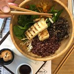 Tabla Bowl with Tofu, delicious!