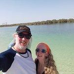 Selfie at the lagoon