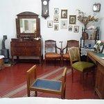 Обстановка в одной из комнат музея