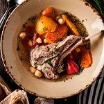 Суп с корейкой ягненка (Soup with loin lamb and potatoes)