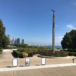 View of Navy Pier from Museum's North Entrance