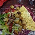 omelette bruccio et menthe