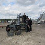 WW2 Sailors on Anti Aircraft Gun