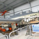 3 seater Anti-Submarine Aircraft in New Hanger
