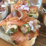House made Lox. Was perfect!
