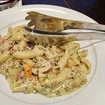 Gigli (parmigiano chicken pasta)