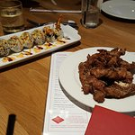 Sushi and Wings..awesome!