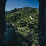 The Great Wall through the Great Wall