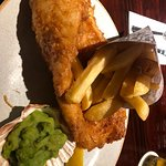 Best fish n chips I ever had I'd say !! Unreal .. both my husband and I thought the same ... bea