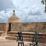 A part of the fortification of Old San Juan
