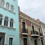 A building in Old San Juan