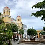 A plaza in Old San Juan