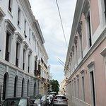 A street in Old San Juan
