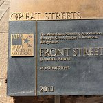 Lahaina Front Street Foto